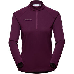 Mammut Aegility Half Zip Longsleeve Shirt Women, violeta